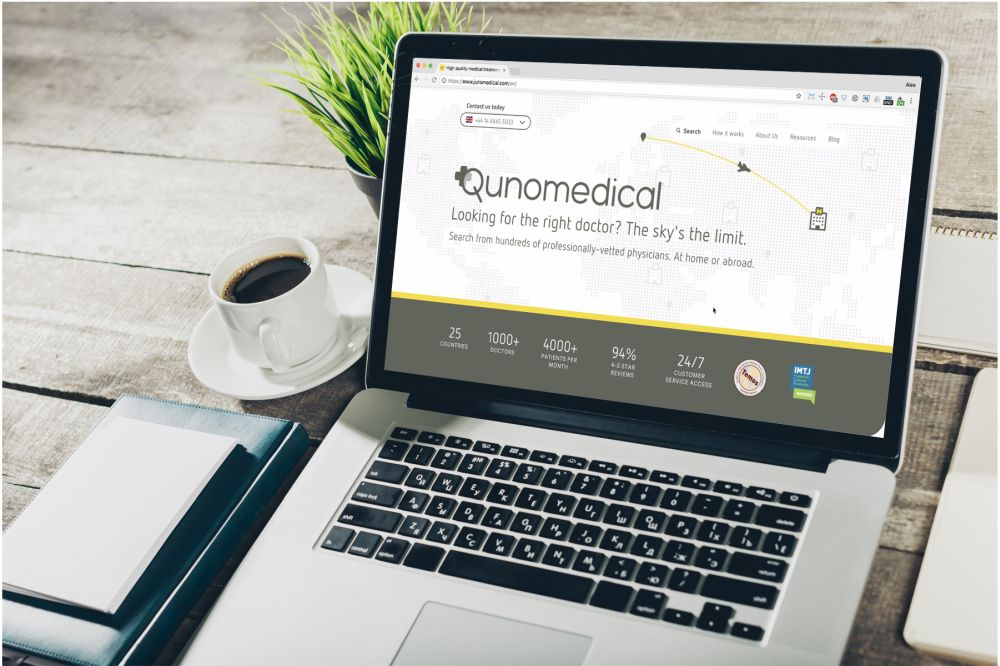 we interviewed the founder of Qunomedical